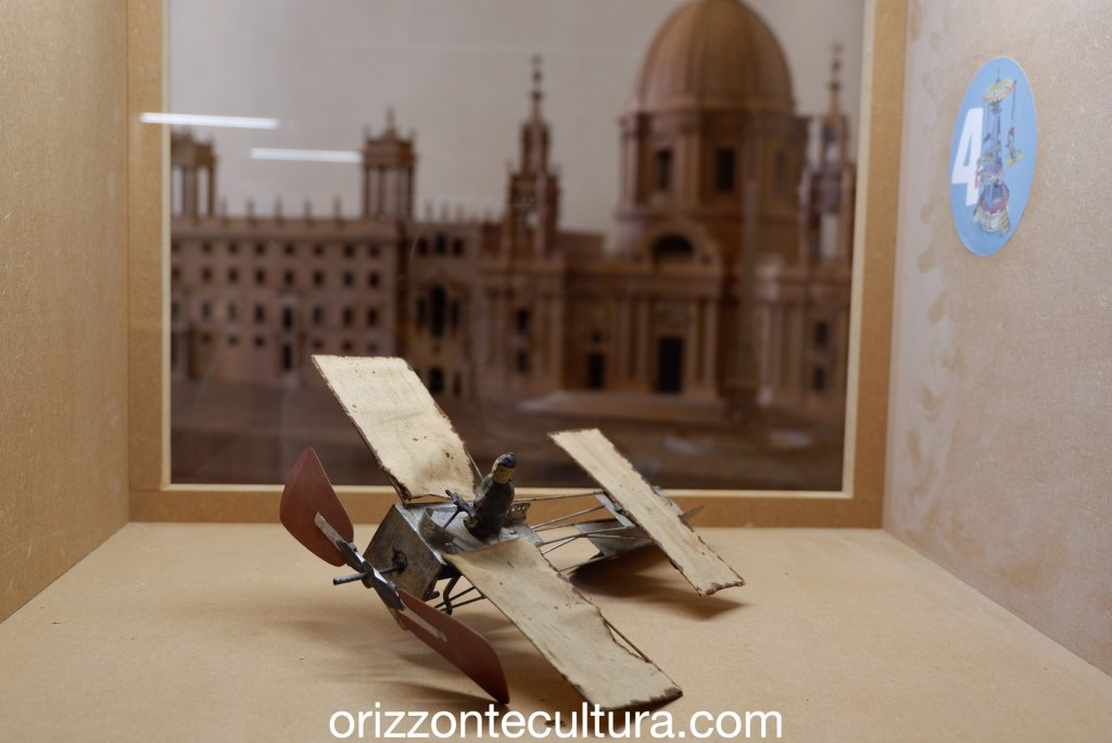 Aeropalnino, per gioco giocattoli antichi Palazzo Braschi