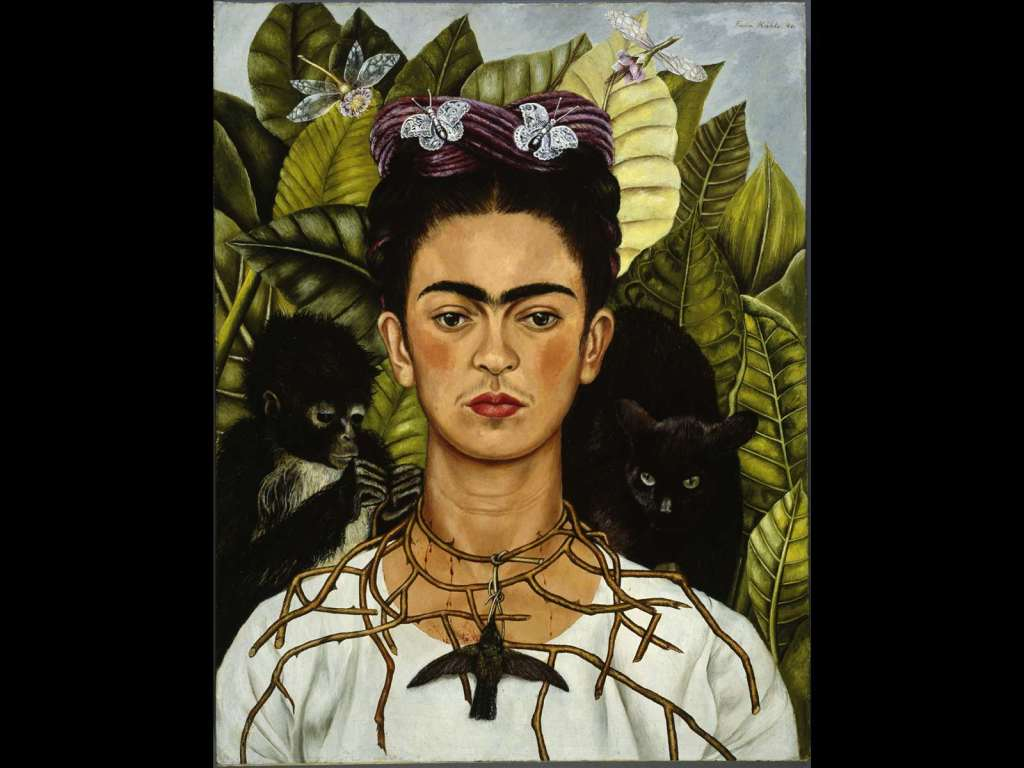 Frida Kahlo, Autoritratto con collana di spine e colibrì