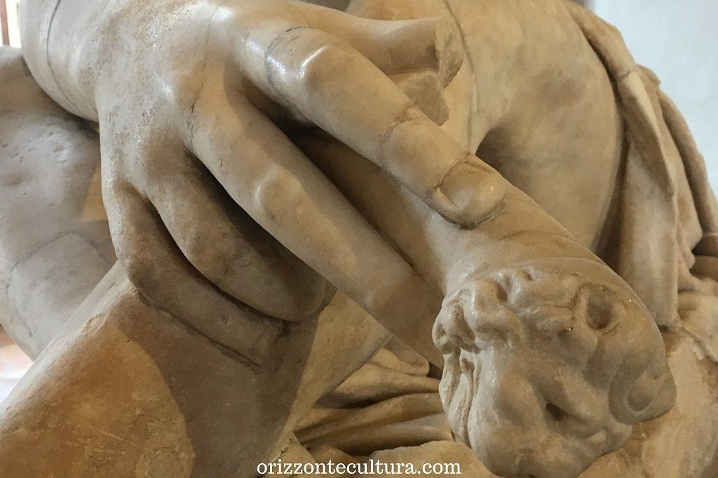 Ares Ludovisi, dettaglio, musei poco conosciuti visitare Roma