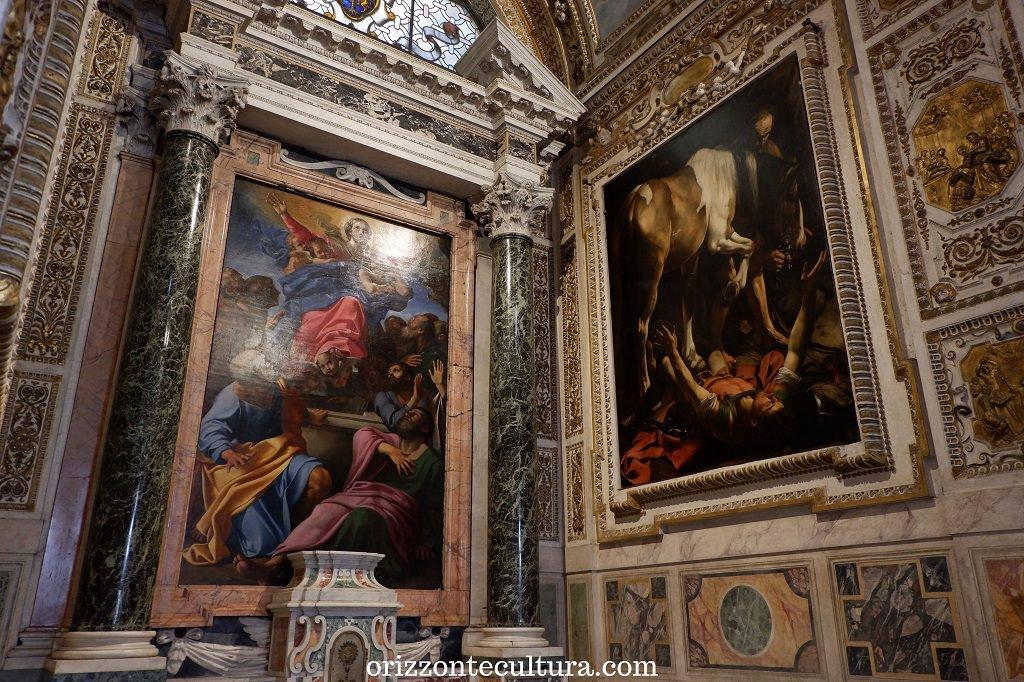 Caravaggio, Conversione di San Paolo, Basilica di Santa Maria del Popolo, Roma