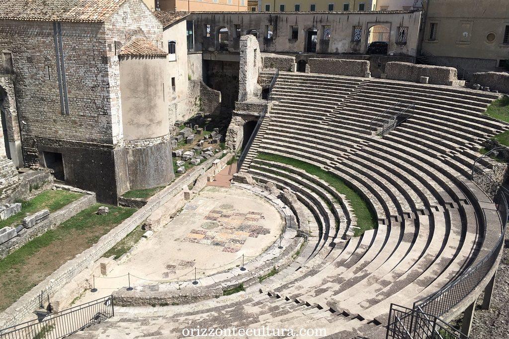 Cavea del Teatro Romano di Spoleto, cosa vedere a Spoleto