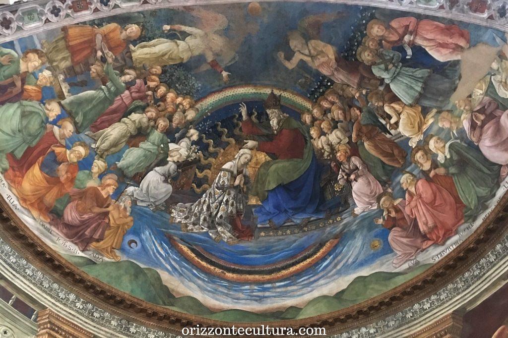 Filippo Lippi, Incoronazione della Vergine, Duomo di Spoleto