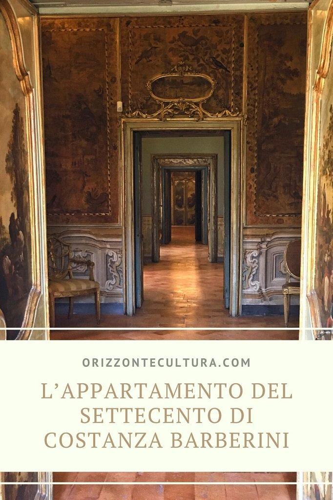 L'appartamento del Settecento di Costanza Barberini - Pinterest (1)