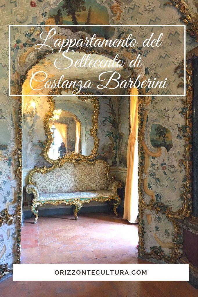 L'appartamento del Settecento di Costanza Barberini - Pinterest