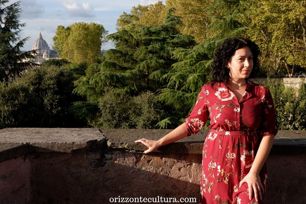 Uno scorcio sul Cupolone dal Belvedere del Gianicolo, Passeggiata Gianicolo