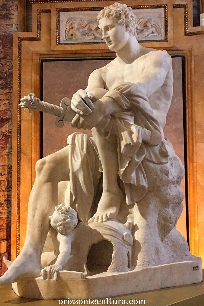 Ares Ludovisi, restauro di Gian Lorenzo Bernini