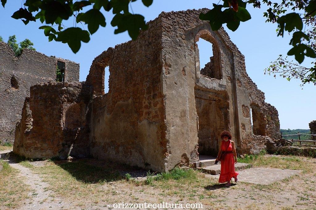 Chiesa di San Rocco, Antica Monterano Tuscia Lazio
