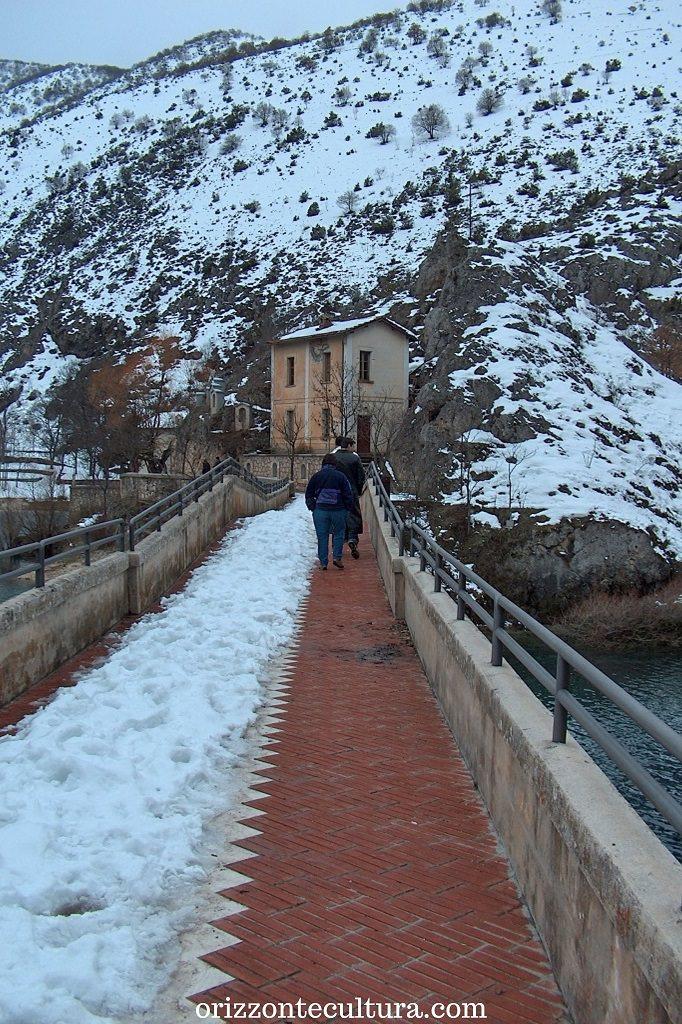 Eremo di San Domenico, lago di San Domenico