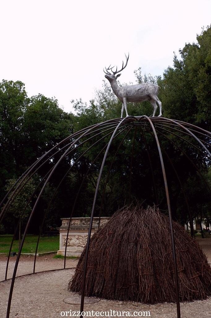 Mario Merz, Senza titolo, Villa Borghese Back to Nature