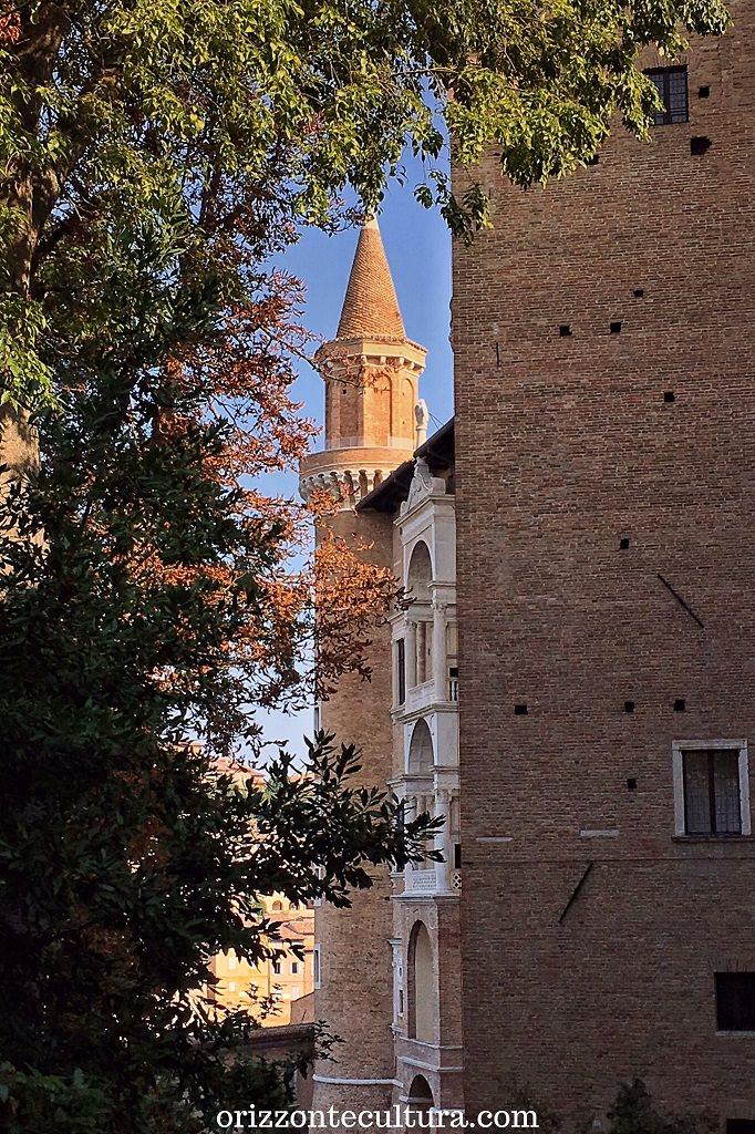 Veduta del PAlazzo Ducale di Urbino, Patrimonio dell'Umanità