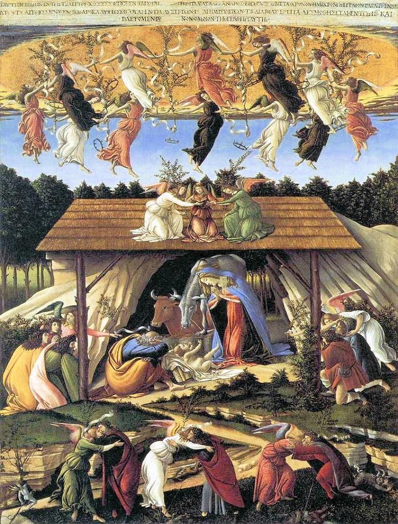 Sandro Botticelli, Natività Mistica