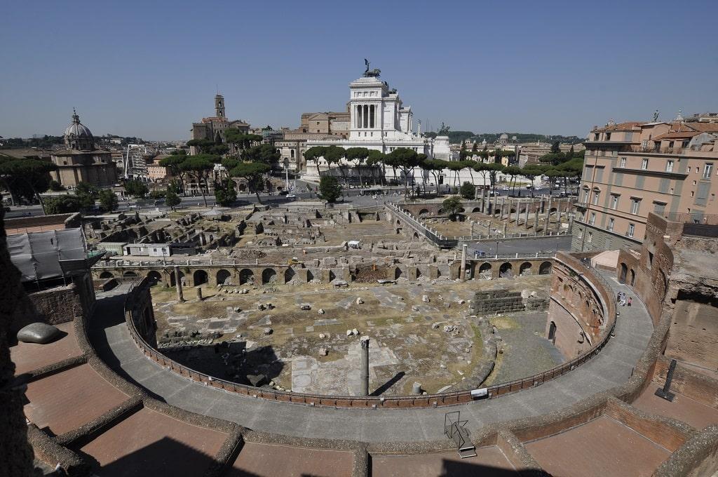 via Alessandrina dai Mercati di Traiano