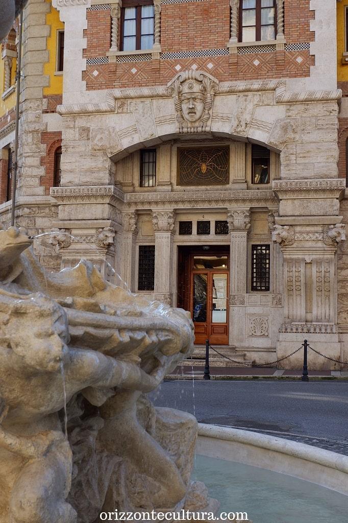 Il Palazzo del Ragno, Coppedè Roma