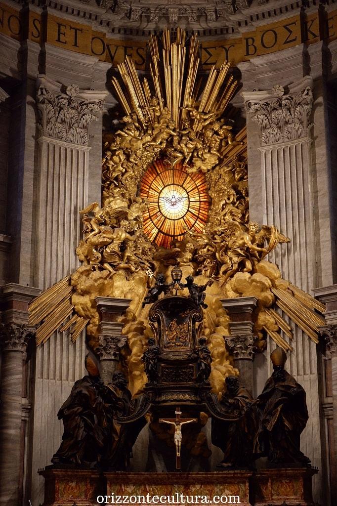 La Cattedra di San Pietro, San Pietro in Vaticano cosa non perdere