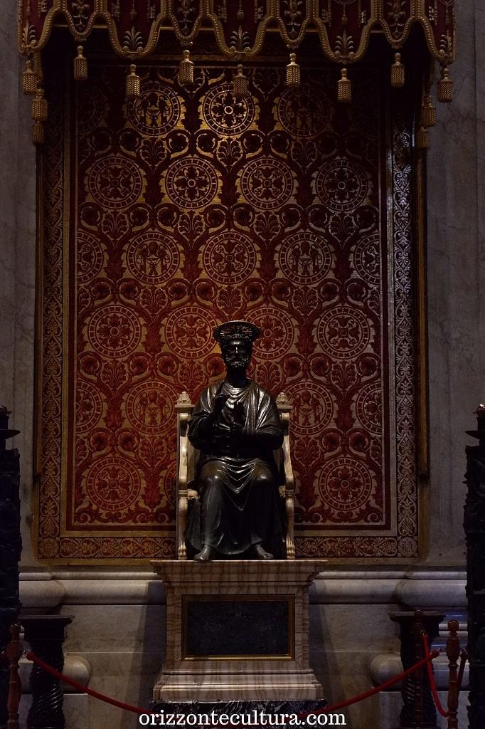 La statua di San Pietro, Basilica di San Pietro in Vaticano cosa visitare