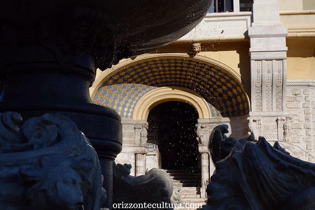 Scorci al quartiere Coppedè di Roma storia curiosità