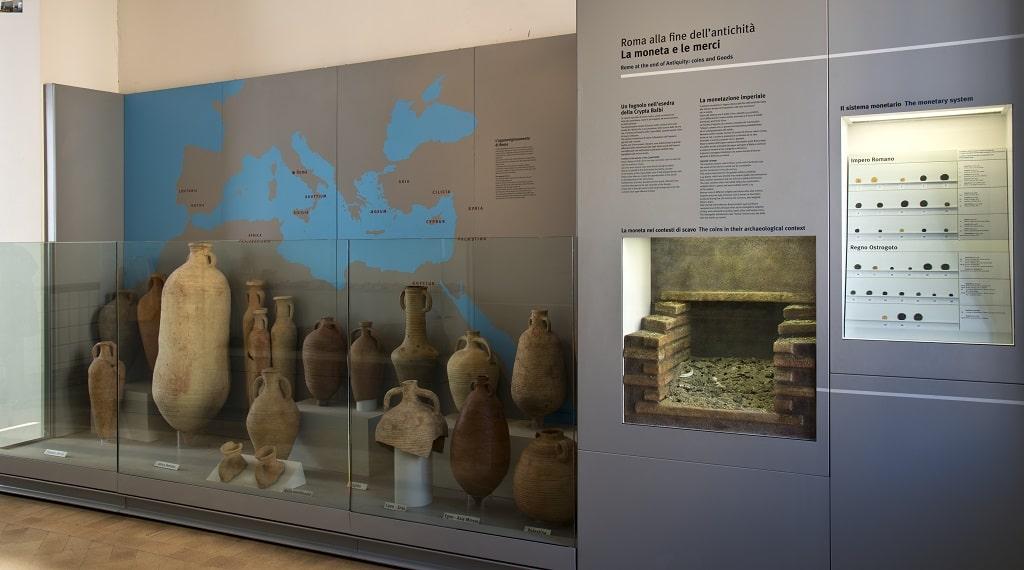 Crypta Balbi, Museo Nazionale Romano, zona gialla musei riaprono Roma
