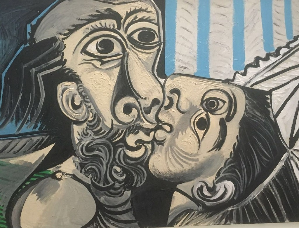 Picasso, Il bacio, baci famosi arte