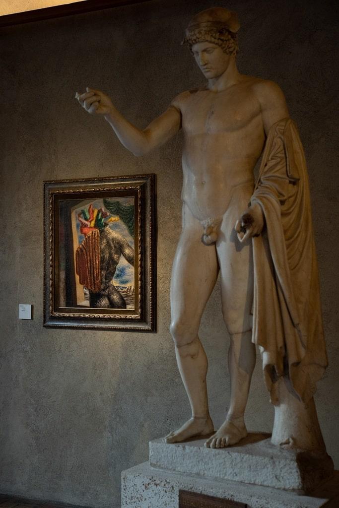 Alberto Savinio, Prometeo Savinio. Incanto e mito Palazzo Altemps