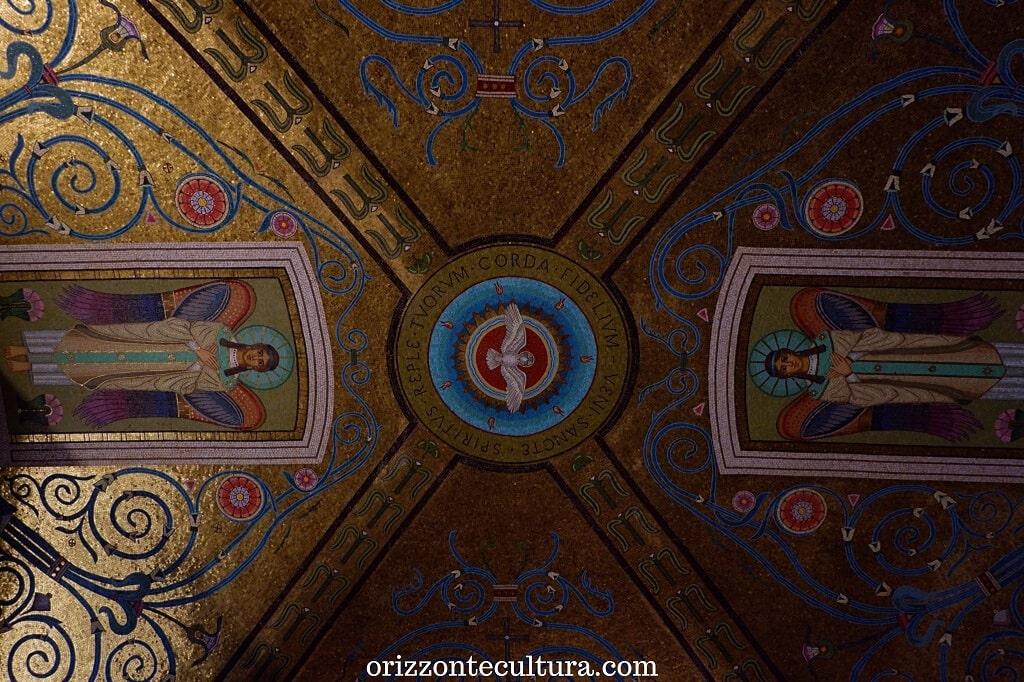 Volta della cripta, Abbazia benedettina di Montecassino