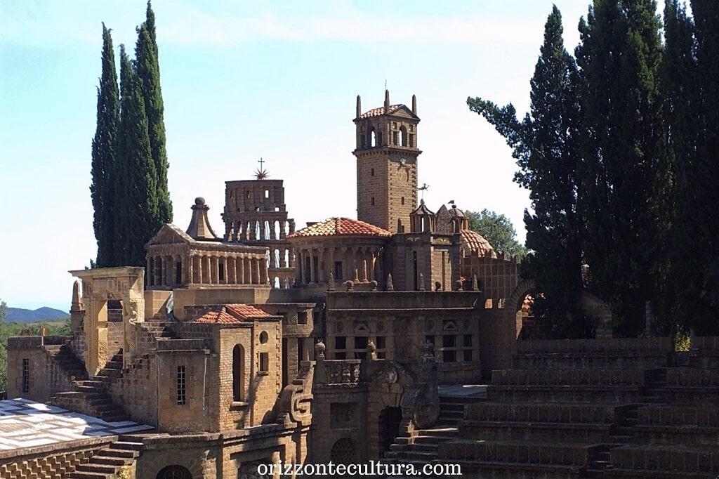 Gli edifici dell'Acropoli del Theatrum Mundi, la Scarzuola Umbria