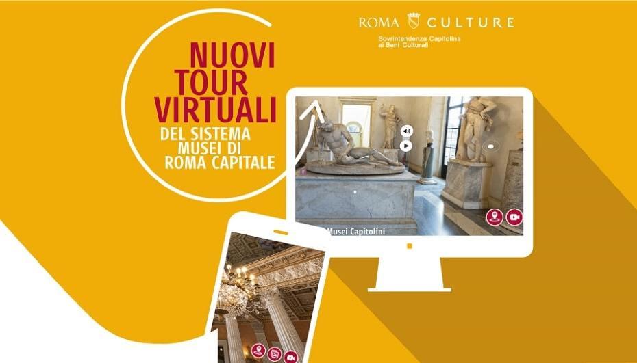 I Musei Civici di Roma da visitare online