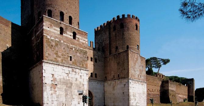 Museo delle Mura, Porta San Sebastiano