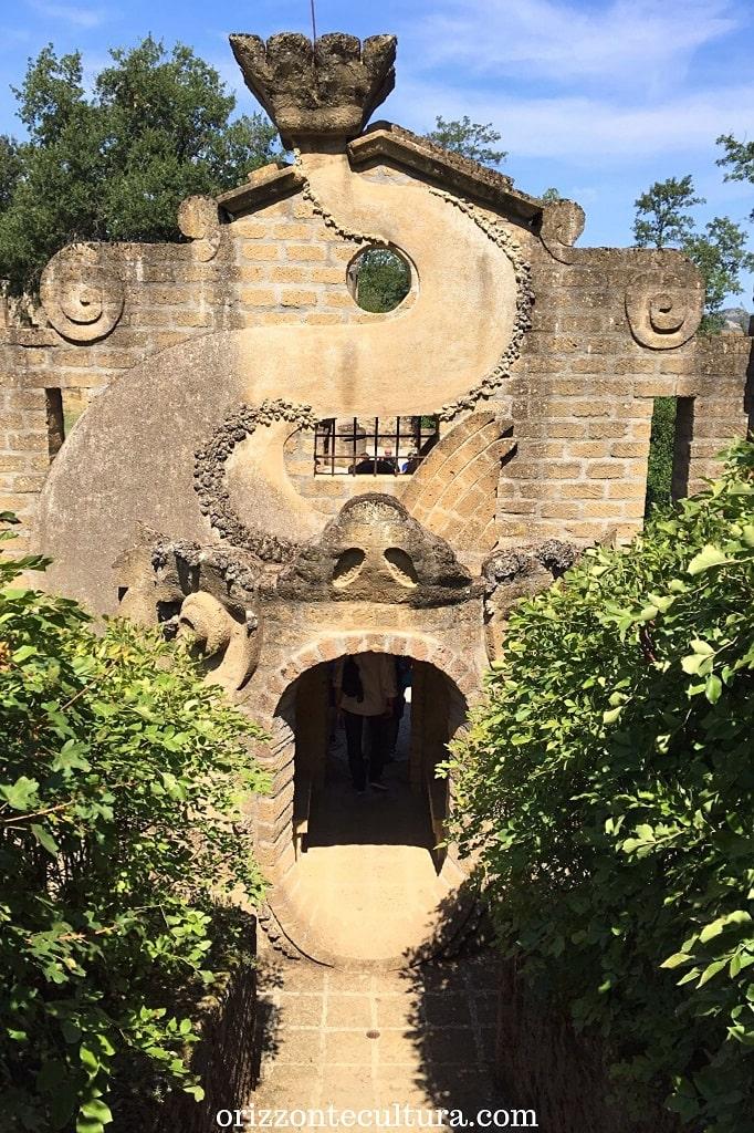 Portale alla Scarzuola, la Scarzuola Umbria