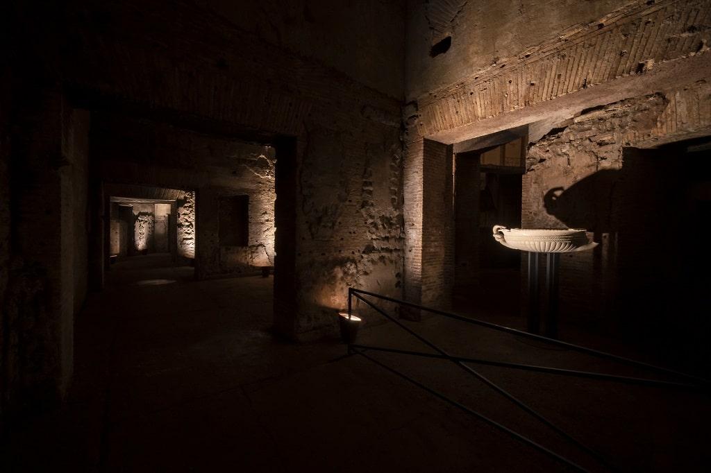 Domus Aurea, ERCO illuminazione