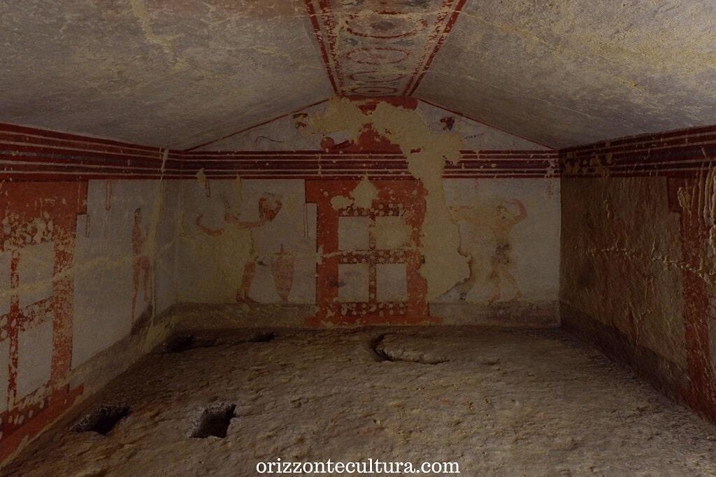 Tomba della Fustigazione, cosa non perdere nella Necropoli di Tarquinia