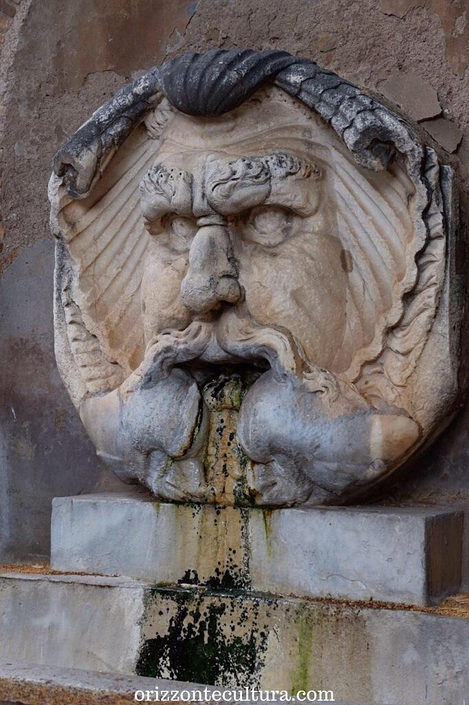 Fontana del Mascherone di Santa Sabina, guida Aventino cosa vedere