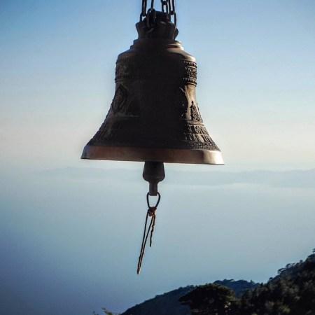 Sul monte Athos. La campana della cappella e rifugio Panaghia<