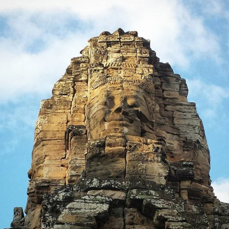 The smile of Angkor, Bayon temple Il sorriso di Angkor, tempio Bayon
