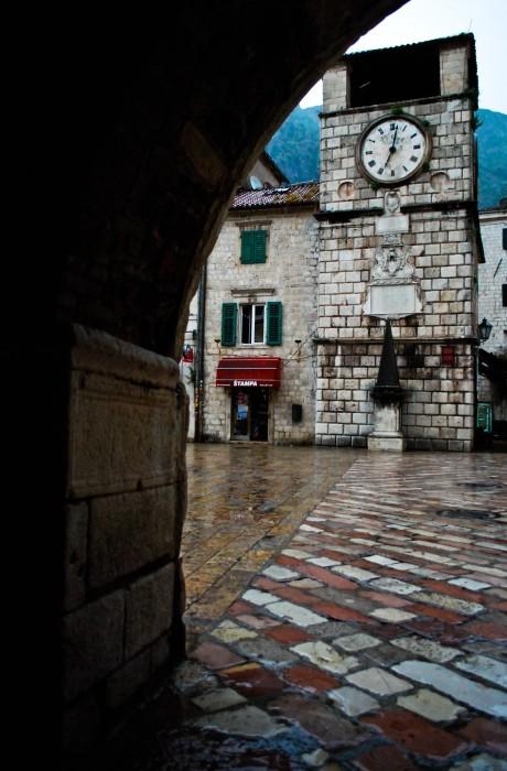 La piazza di Cattaro