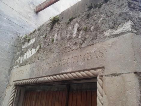 """""""Recte faciendo, neminem timeas"""" iscrizione a Sibenik"""
