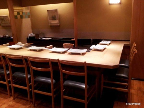 Dove mangiare a Tokyo: Ginza Kyubey