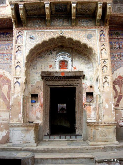 Haveli nello Shekhawati, India