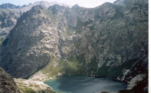 Il lago di Melo, Corsica