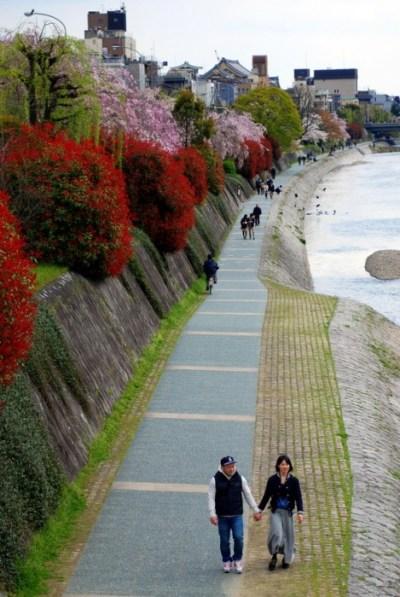 Kyoto, lungo il Kamogaw