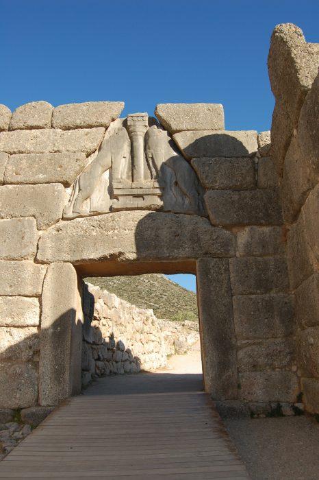 La porta dei Leoni di Micene