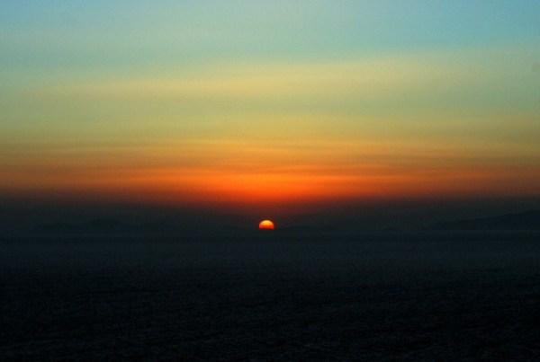 Il tramonto da Oia