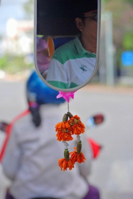 Sul tuk tuk a Vientiane