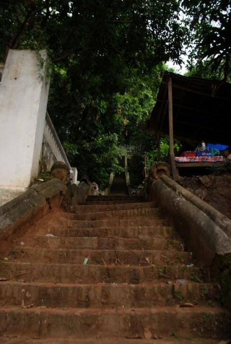 Luang Prabang - La salita al Phu Si