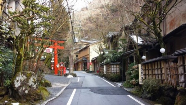 Hike from Kibune to Kurama: Kibune village