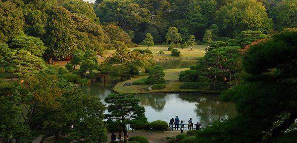 Tokyo, parco Rikugien