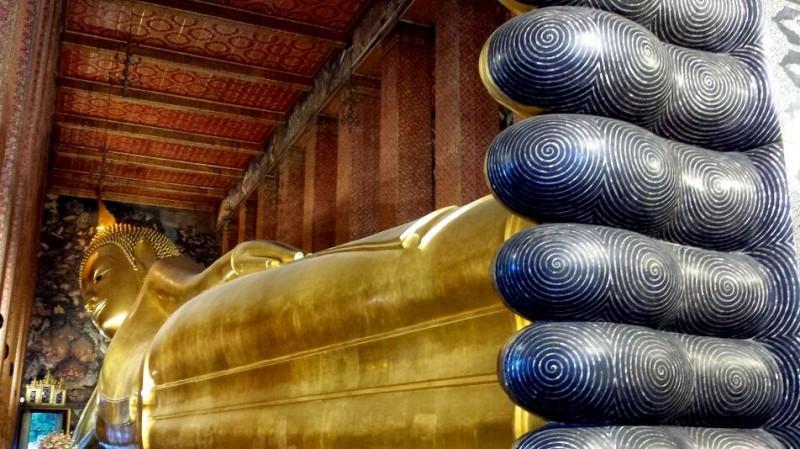 Due giorni a Bangkok: non può mancare il Budda sdraiato del Wat Pho