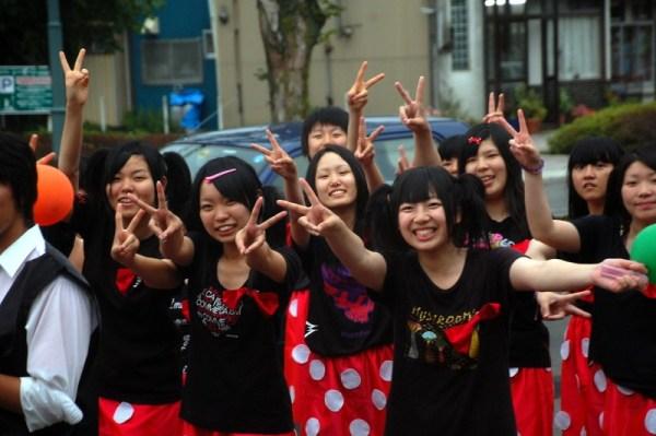 Festival scolastico a Hakodate (foto di Patrick Colgan, 2011)