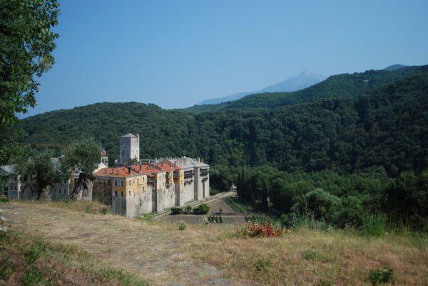 Monte Athos: il monastero di Iviron