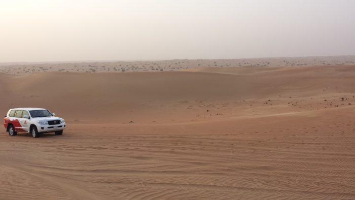 I fuoristrada nel deserto di Dubai