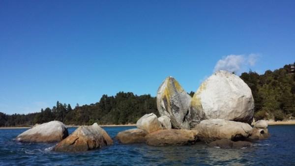 Split apple rock nell'Abel Tasman National Park